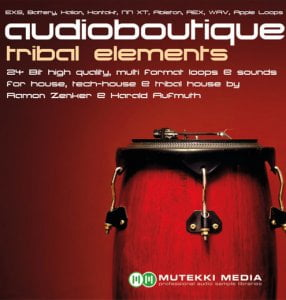 mutekki media audio boutique tribal elements