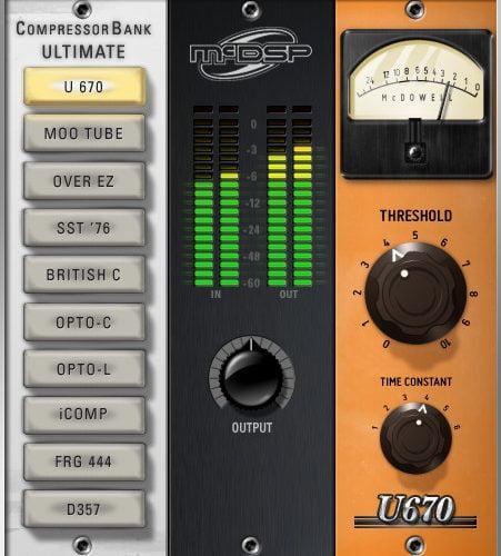 mcdsp 6030 ultimate compressor