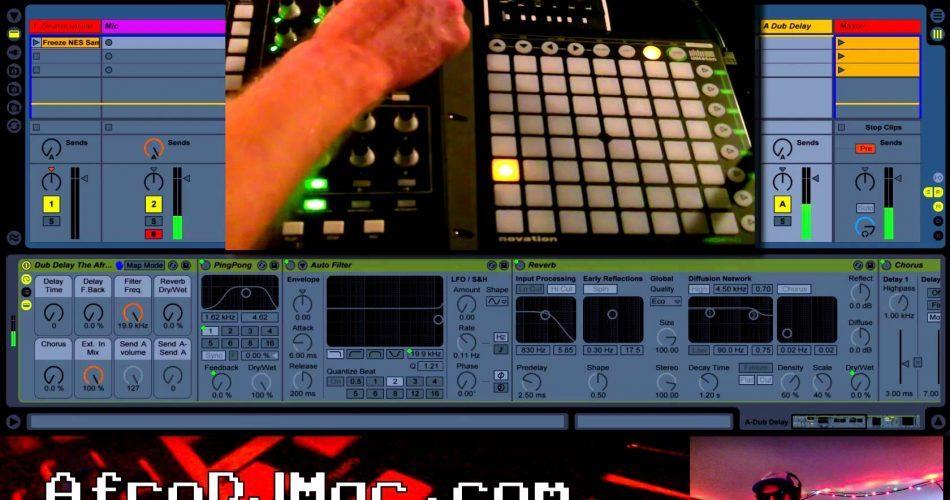 AfroDJMac Vocal Rack Dub Delay
