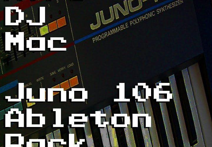 AfroDJMac Juno 106 Ableton Pack