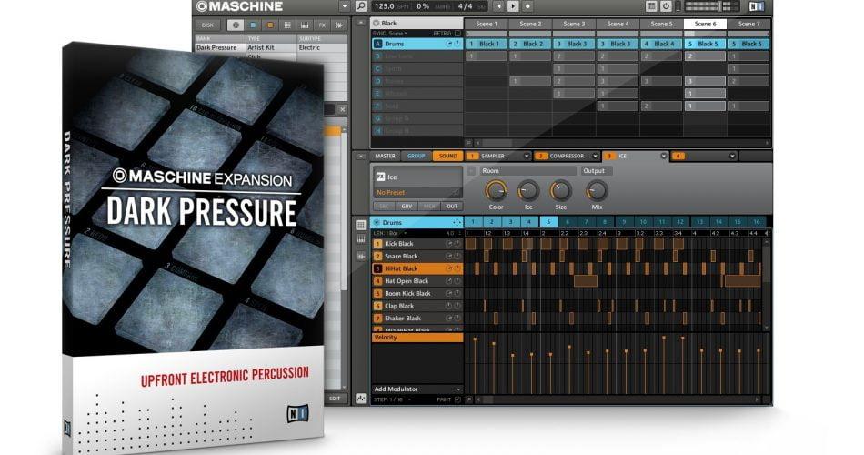 NI Maschine Expansion Dark Pressure