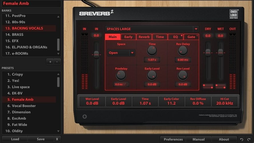 overloud breverb2 mixpack