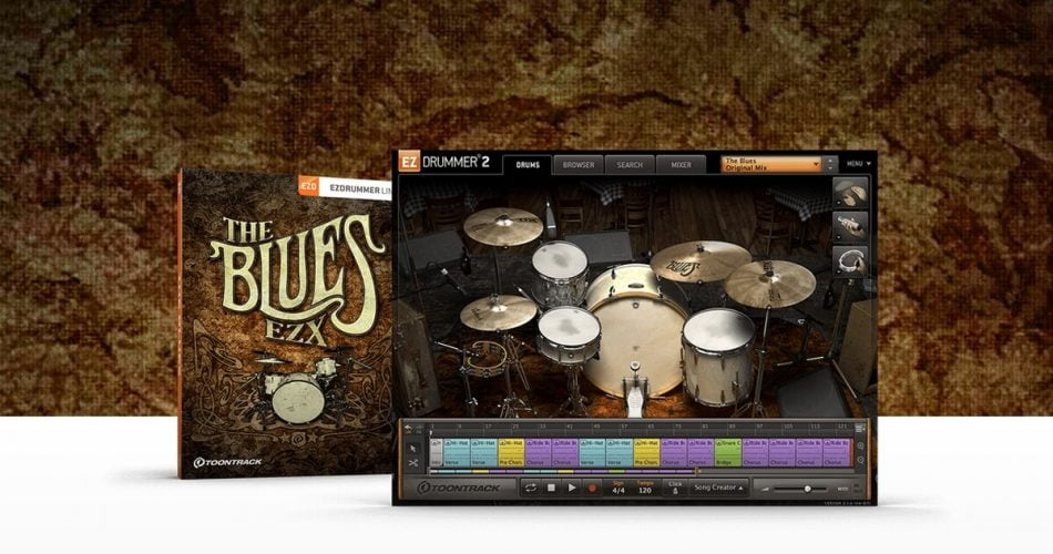 Toontrack Blues EZX