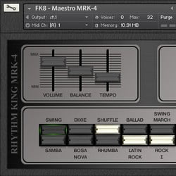 Forgotten Keys Maestro Rhythm King Mrk 4 For Kontakt Updated