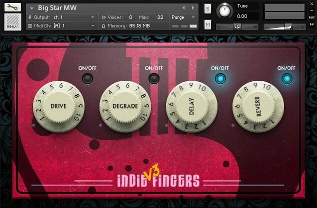 Dream Audio indie fingers 3