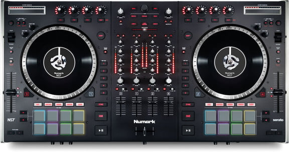 numark ns7 ii dj controller mixer shipping. Black Bedroom Furniture Sets. Home Design Ideas