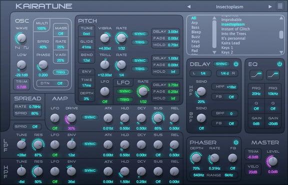 Free Synth For Mac & Windows, Kairatune – Synthtopia
