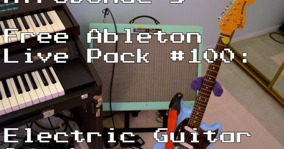 AfroDJMac Electric Guitar Synths