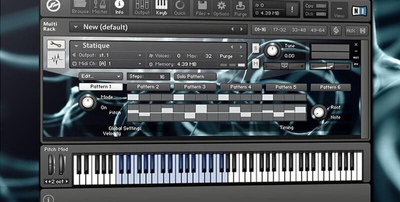 audiomodern statique