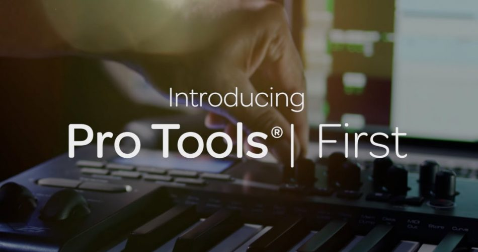 Avid Pro Tools First