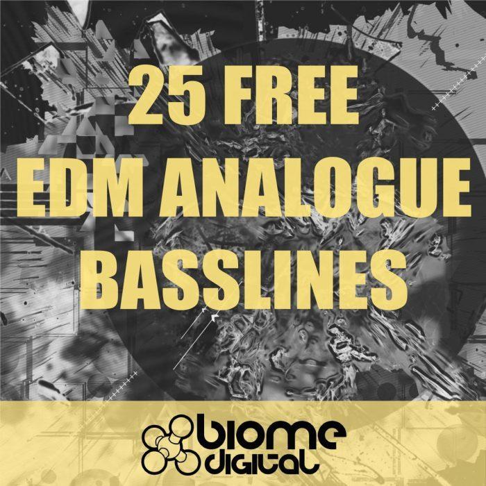25 Free Analogue EDM Basslines