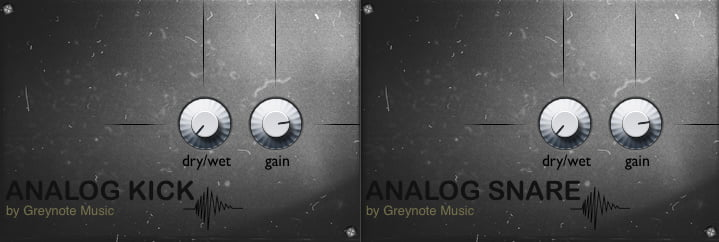 Greynote Music Analog Kick and Snare