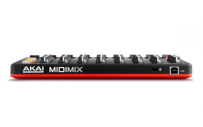 Akai MIDImix rear