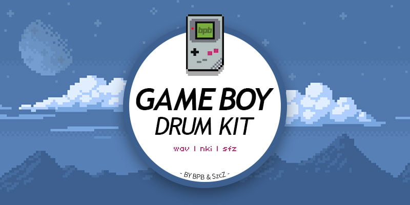 BPB Game Boy Drum Kit