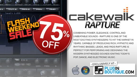 Cakewalk Rapture Flash Sale