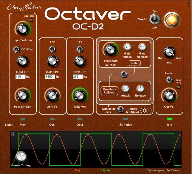 Chris Hooker Octaver OC-D2