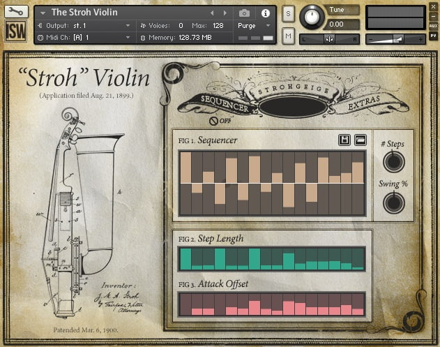 Impact Soundworks The Stroh Violin sequencer