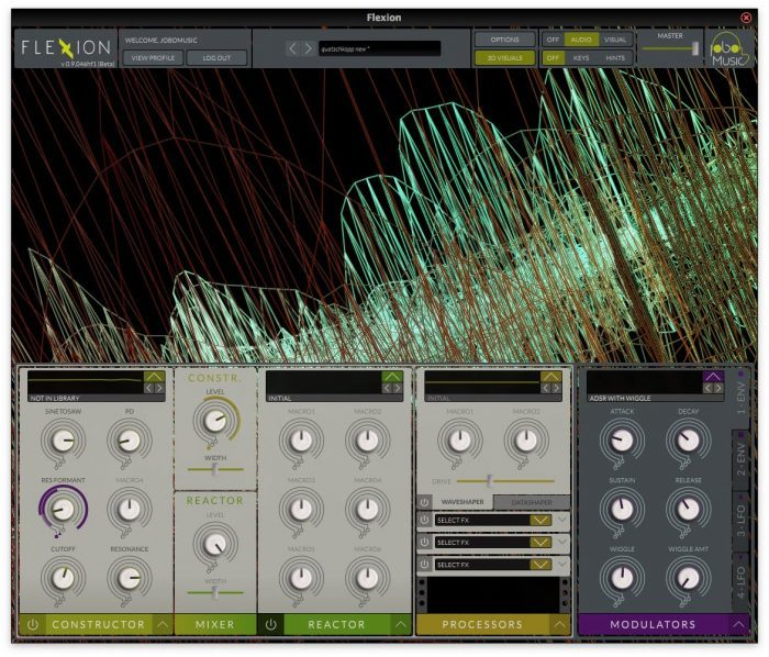 JoboMusic Flexion Screenshots 1
