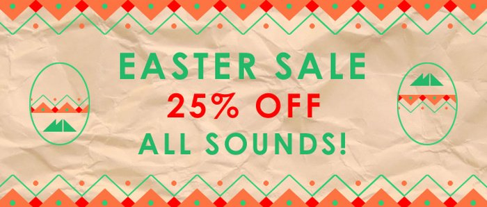 Modeaudio Easter Sale