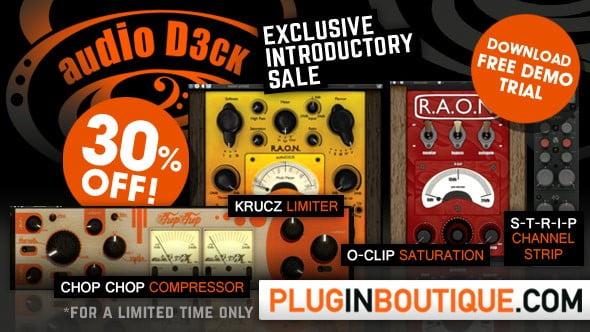 Plugin Boutique audioD3ck sale
