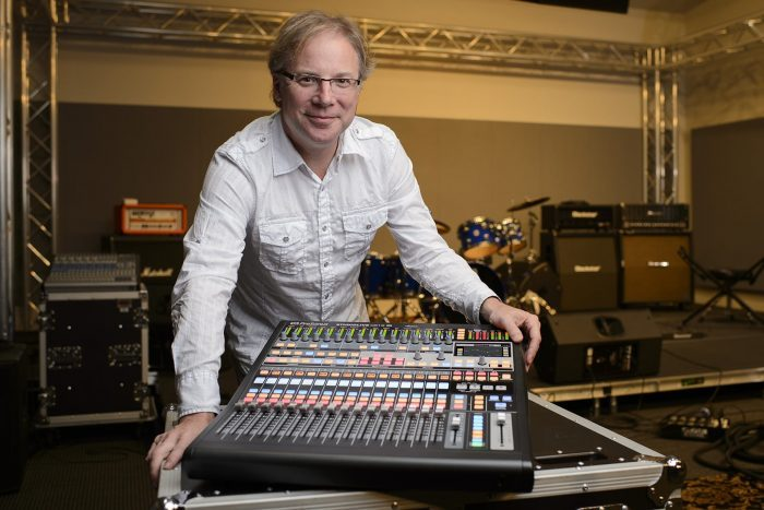 Jim Odom with PreSonus StudioLive CS18AI