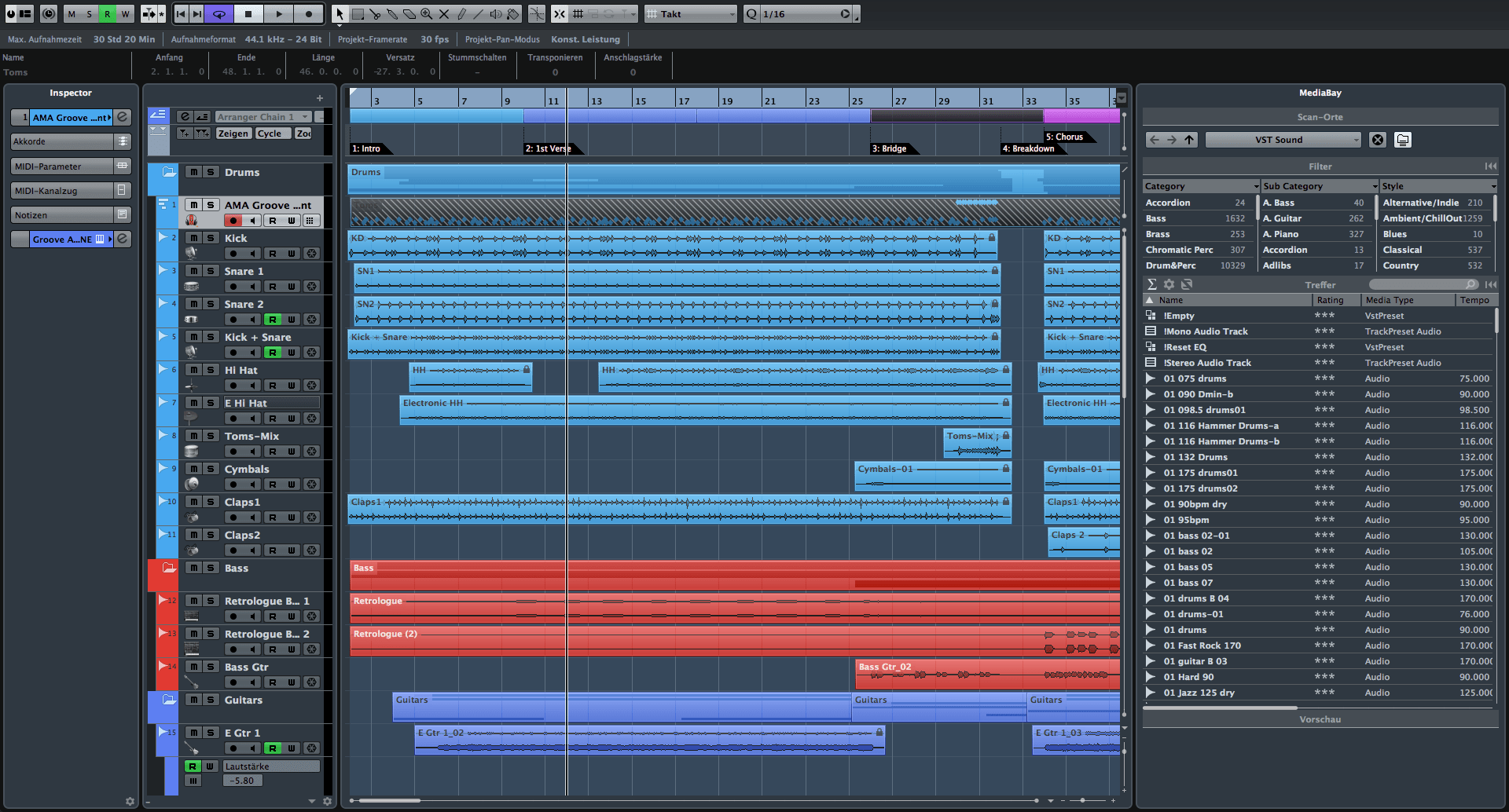 Cubase Elements 8 Released By Steinberg