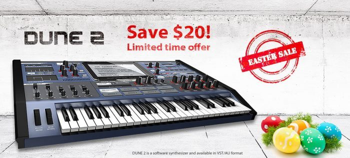 Synapse Audio DUNE 2 Easter Sale