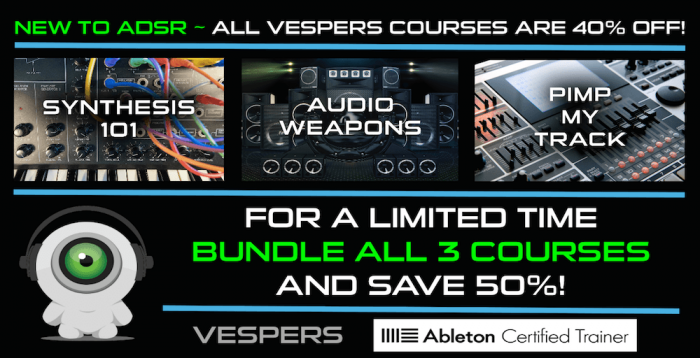 ADSR Vespers promo