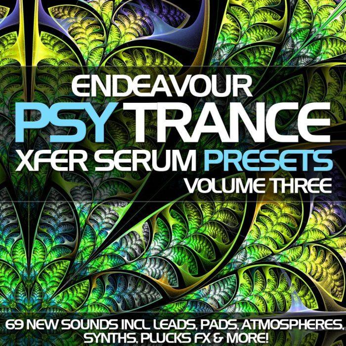 Endeavour Psytrance for Serum Vol 3
