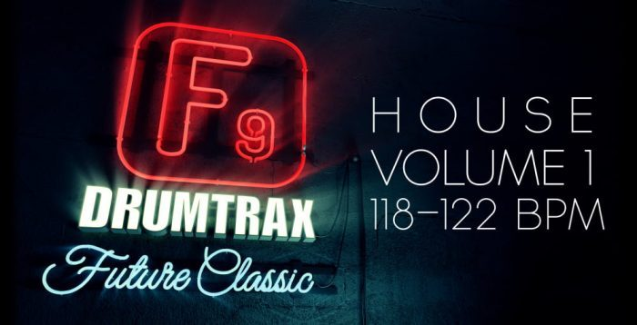 F9 Audio Drumtrax Future Classic House Vol 1