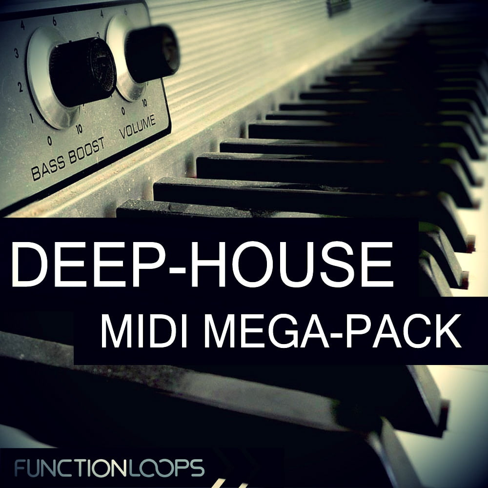 Deep house midi megapack by function loops released for House music midi
