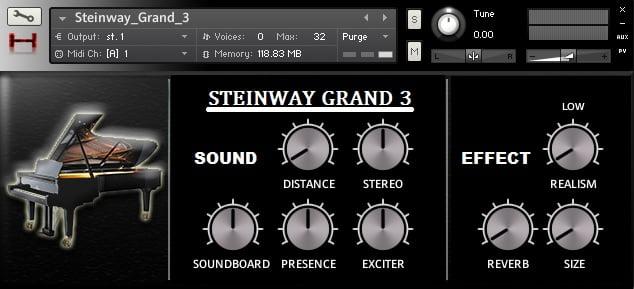 Hephaestus Sounds Steinway Grand 3