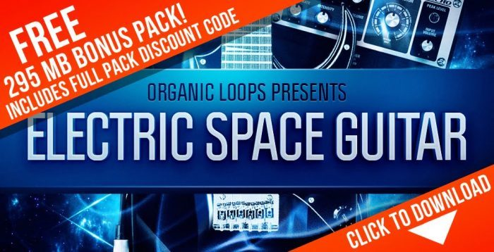 Organic Loops Electric Space Guitar Promo Collection