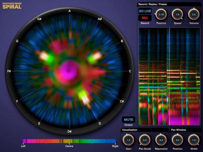 Photosounder Spiral