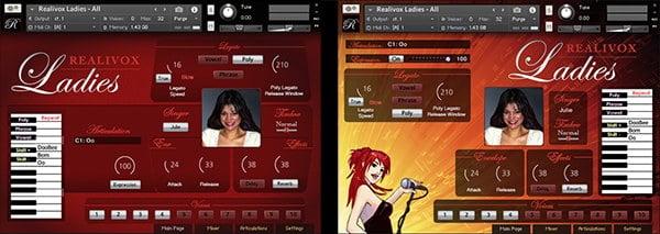 Realivox Ladies TwoGraphics