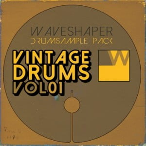 Waveshaper VintageDrums Vol01