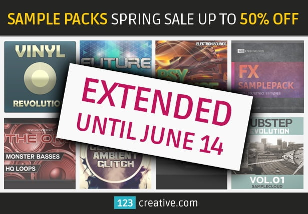 123creative Spring Sale Extended