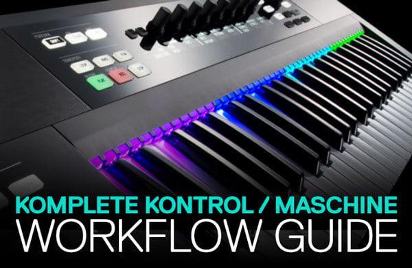 ADSR Komplete Kontrol Maschine Workflow Guide