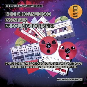 Big Sound Samples Indie Dance & Nu Disco Essentials