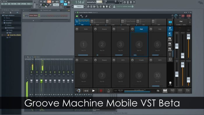 Image-Line Groove Machine Mobile VST