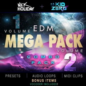Kid Zero EDM Mega Pack Bundle