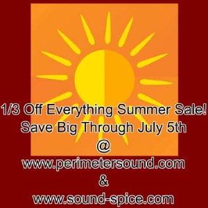 Perimeter Sound & SoundSpice Summer Sale