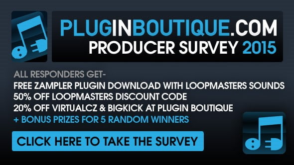 Plugin Boutique Producer Survery 2015