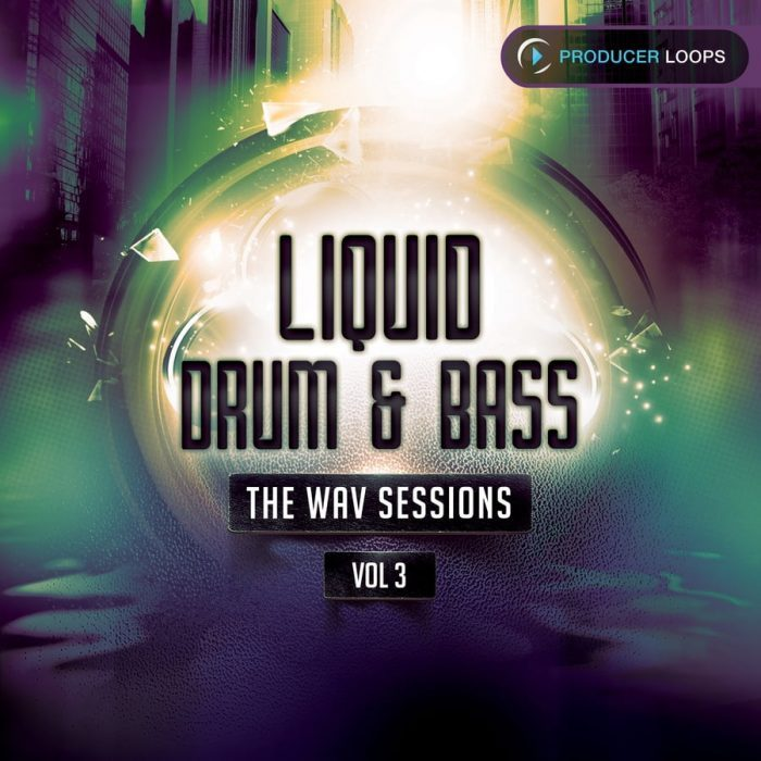 Producer Loops Liquid Drum and Bass The Wav Sessions Vol3