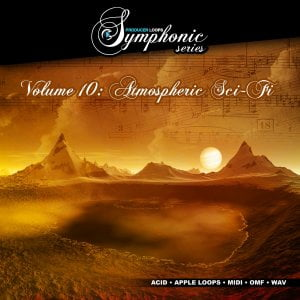 Producer Loops Symphonic Series Vol 10 Atmospheric Sci-Fi