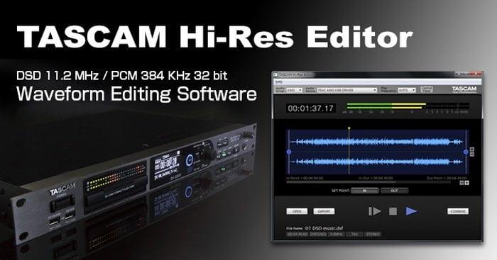 Tascam Hi-Res Editor