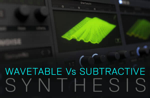 ADSR Wavetable vs Subtractive Synthesis