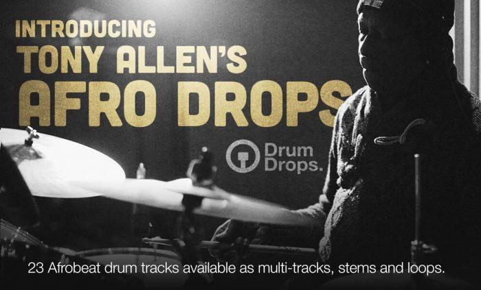 Drumdrops Tony Allen's Afro Drops