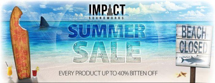 Impact Soundworks Summer Sale