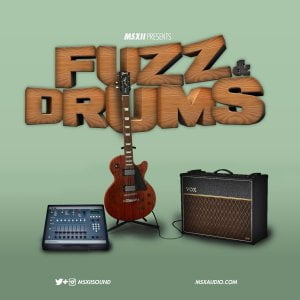 MSXII Sound Design Fuzz & Drums